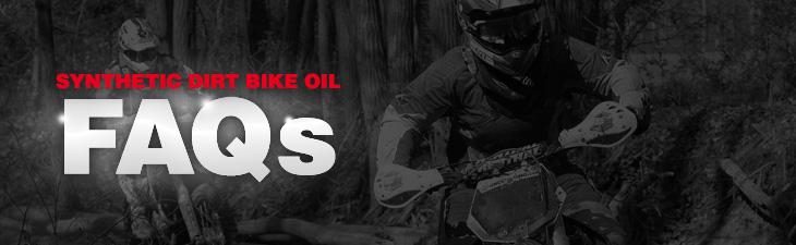 dirt bike oil faq